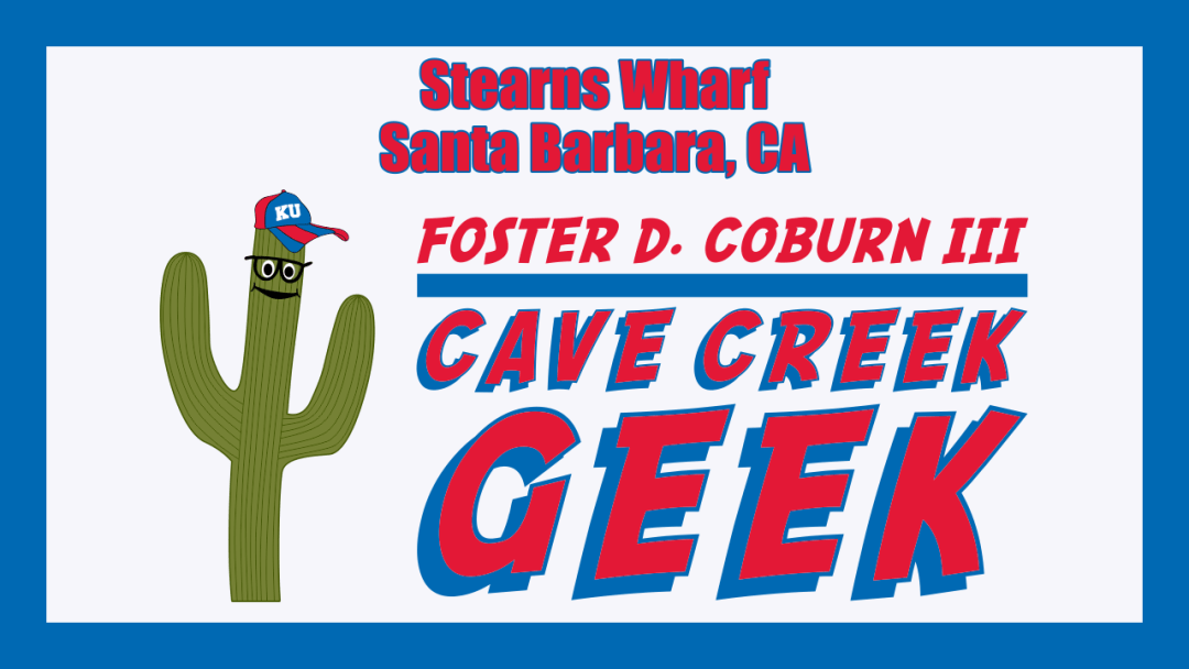 Cave Creek Geek At End Of Stearns Wharf in Santa Barbara, CA