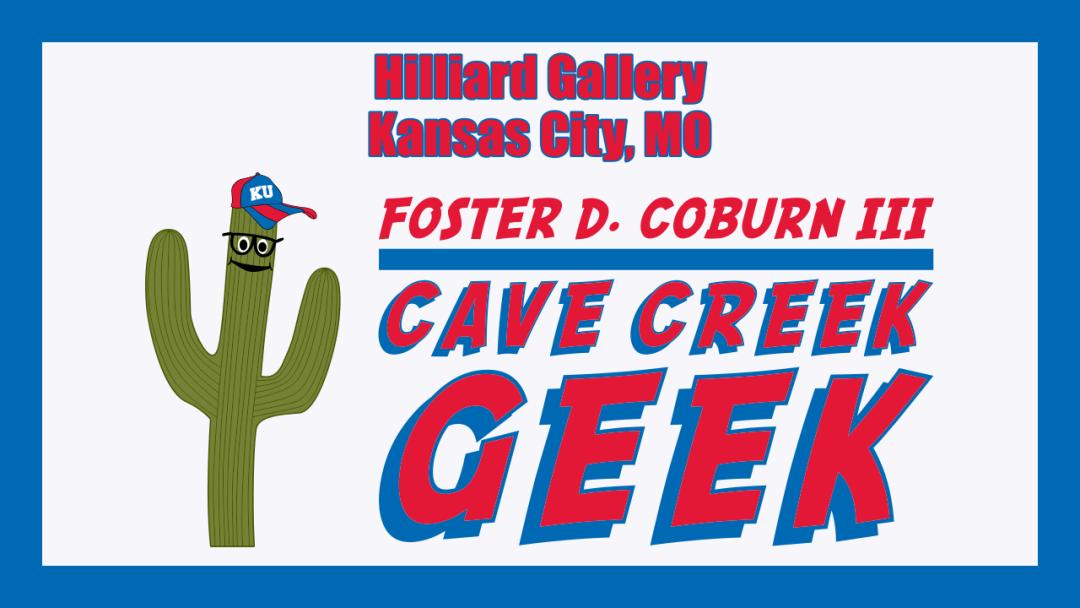 Cave Creek Geek Speaks French at Hilliard Gallery