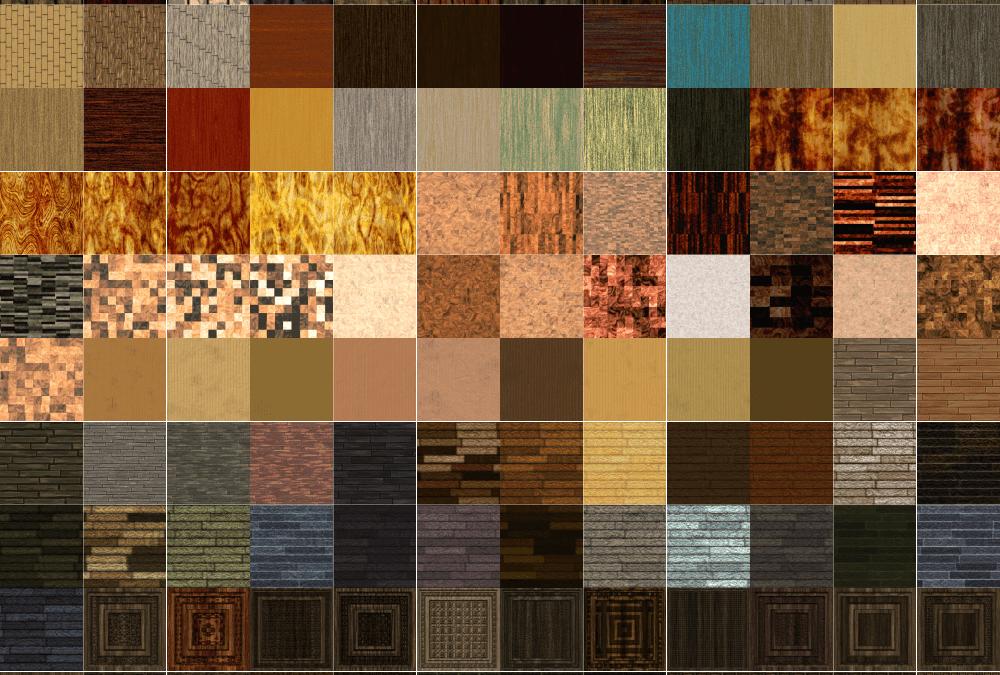 A Lumberyard Full of Seamless Wood Textures