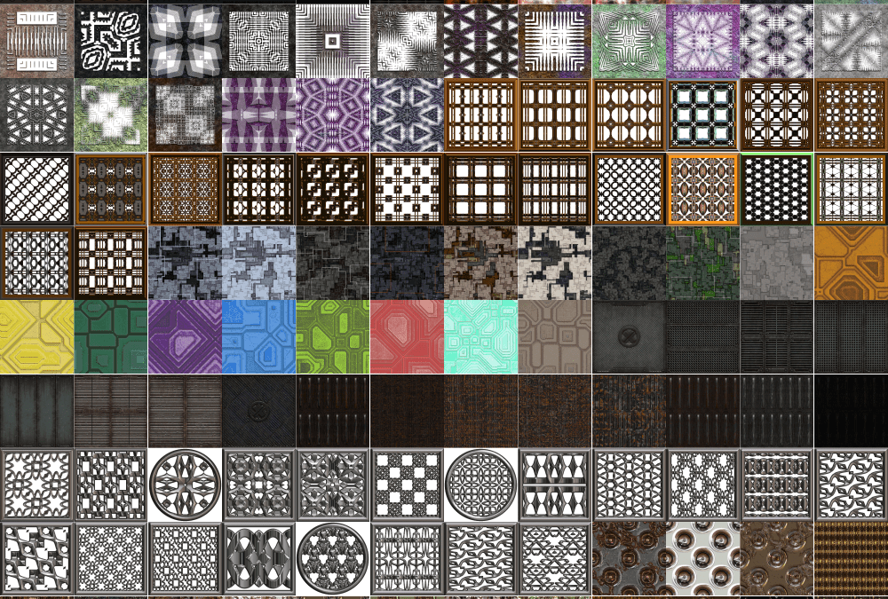 Grate Collection Of Heavy Metal Seamless Textures