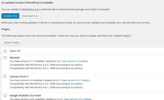 wordpress-updates-needed