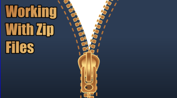 Working With Zip Files Is Basic Computer Skill