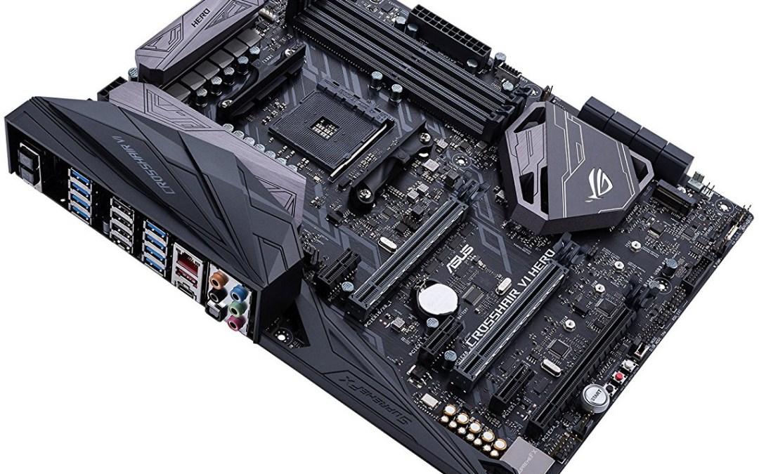 AMD Ryzen 7 Processor and ASUS Motherboard
