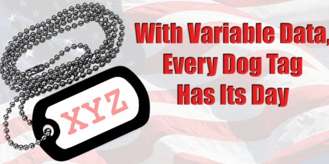 Variable Data inside CorelDRAW – Dog Tag Example