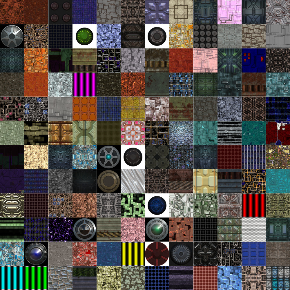 Seamless Technology Textures