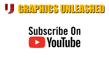 Graphics Unleashed YouTube Channel Trailer and Fun Video