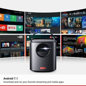 Streaming Video on Anker Mars II projector