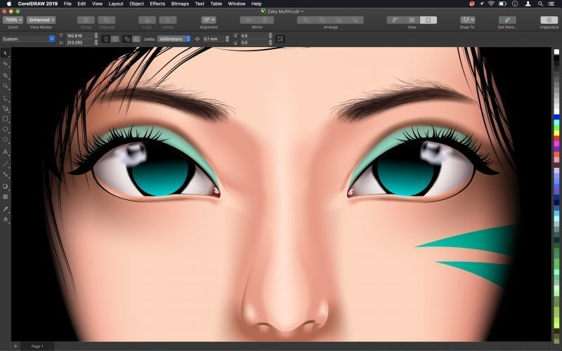 CorelDRAW Graphics Suite 2019 for Mac delivers the heart and soul of CorelDRAW in a new experience designed specifically for macOS.