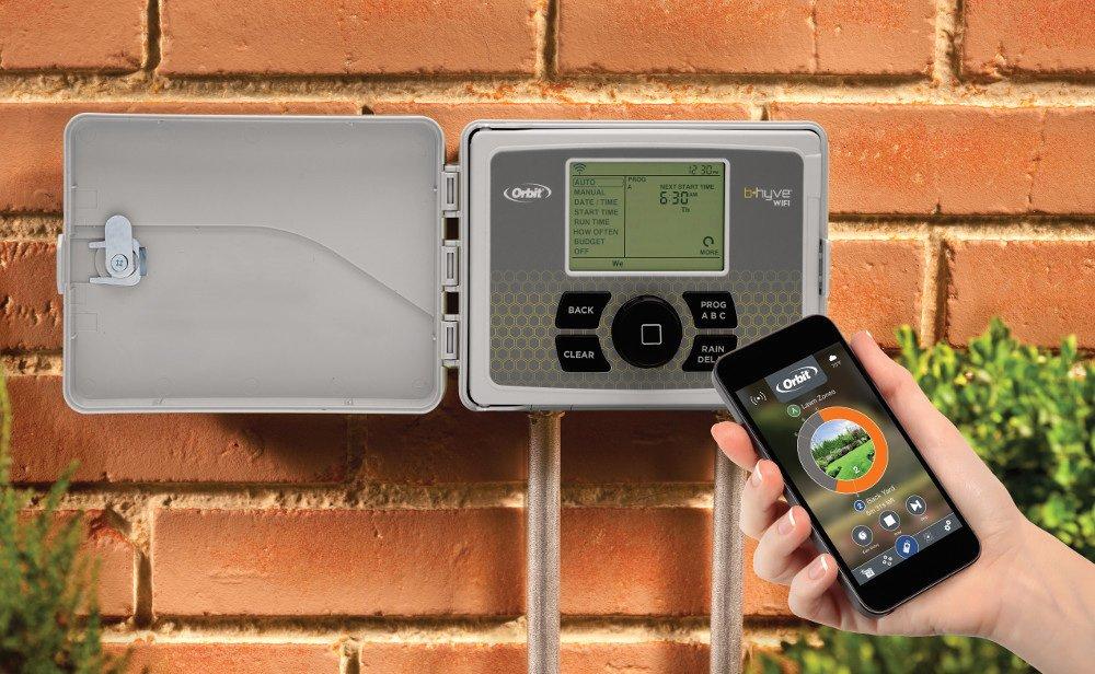 Orbit B-hyve Smart Indoor/Outdoor 6-Station WiFi Sprinkler System Controller