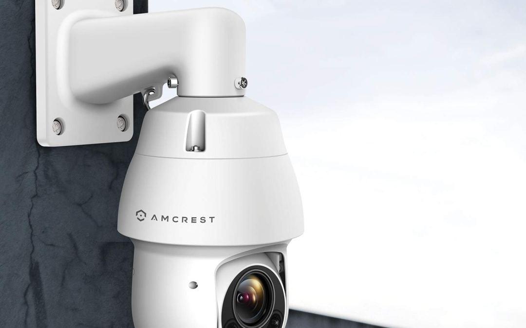 Amcrest Outdoor Camera Pan Tilt Zoom