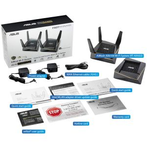 Asus RT-AX92U AX6100 Tri-Band Wi-Fi 6 Mesh Router with 802.11Ax