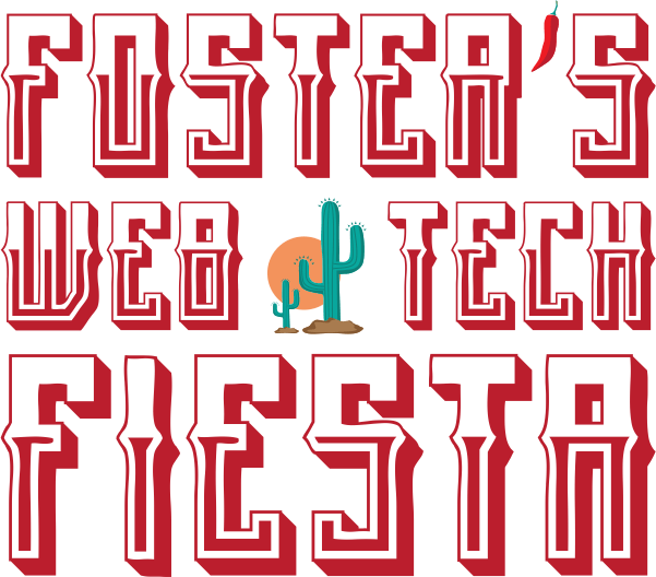 Foster's Web & Tech Fiesta Logo