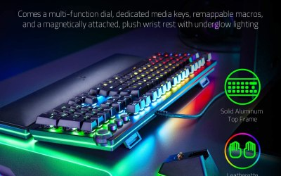 Elite Keyboard Loaded With Features Has a Price