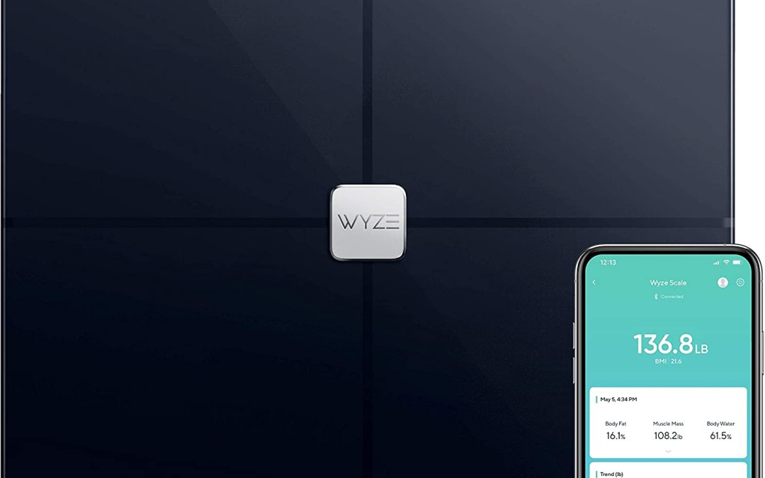 Wyze Scale, Bluetooth Body Fat Scale and Smart Body Composition Monitor