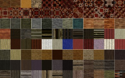 144 New Seamless Blocks of Wood Textures