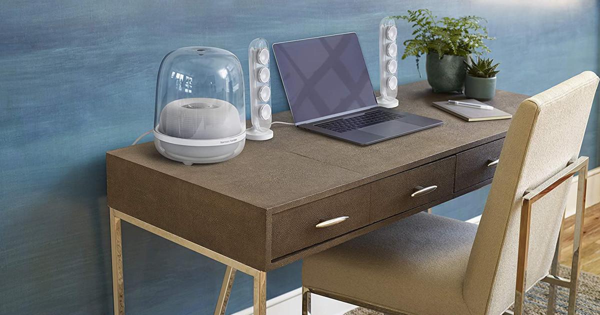 Harman Kardon SoundSticks 4-2.1 Bluetooth Speaker System with Deep Bass