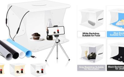 Emart Portable Photography Table Top Light Box Kit