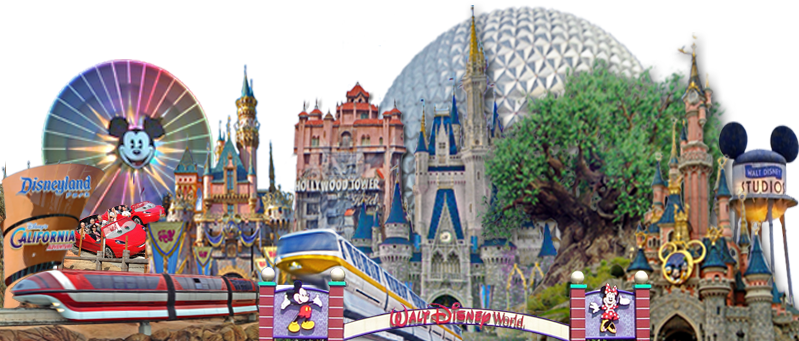 ASD's Composite Image of Disney Parks