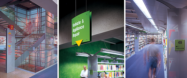 Wayfinding And Architectural Signage For Libraries – ASI