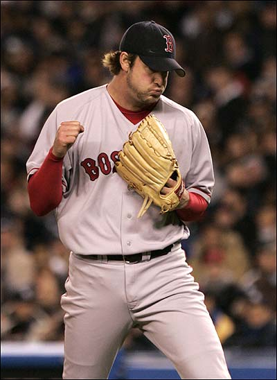 Derek Lowe on Boston