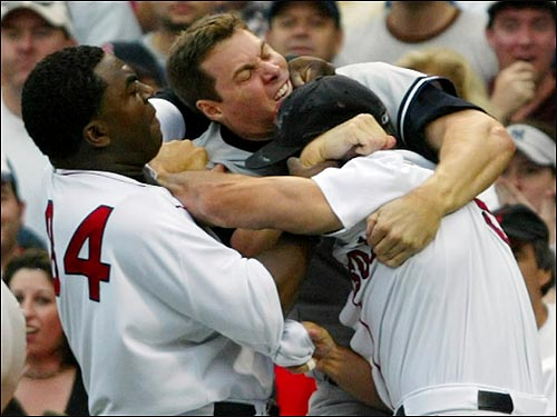 Sox Yankees Brawl