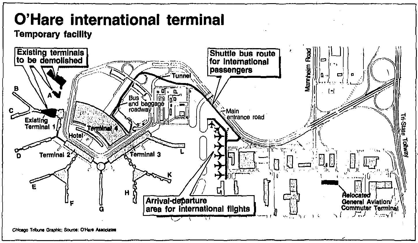 From farmland to 'Global Terminal': O'Hare International