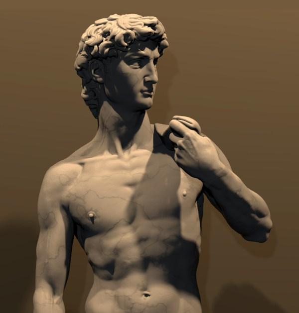 Digital Michelangelo Project 3d Scanning Of Large Statues