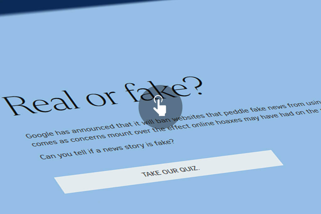 Can you tell if a news story is fake Take our quiz The