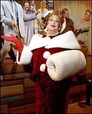Harvey Fierstein as Edna Turnblad as Mrs. Santa Claus
