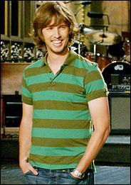 Jon on Saturday Night Live set