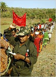 In India Maoist Guerrillas Widen Peoples War New