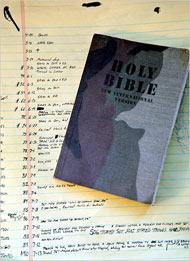 Detainee's bible