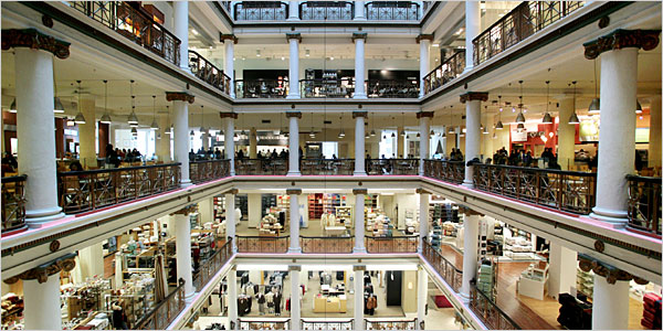 The Past and the Future of Department Store in Looking
