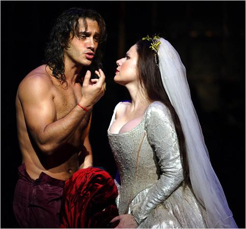 Erwin Schrott als Don Giovanni - einer der schönen, neben mir ;)