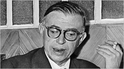 Great Philosophers Who Failed at Love by Andrew Shaffer, Jean-Paul Sartre