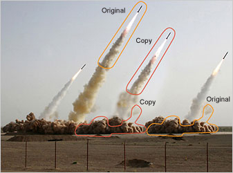 In Iranian Image, a Missile Too Many