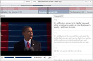 Analyzing Obama's Inaugural Speech