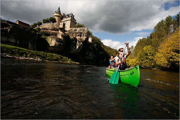 Château de Belcayre on the Vézère River, by Ed Alcock for The New York Times, copyright 2008 The New York Times, all rights reserved