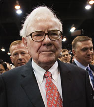 Warren Buffett is leaving his position on the board of the Washington Post Company.