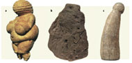 Sexual images in early Homo sapiens European art