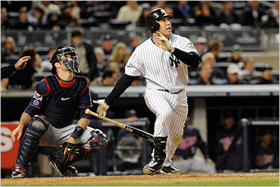 Yankees Beat Twins in a 4-Game Sweep