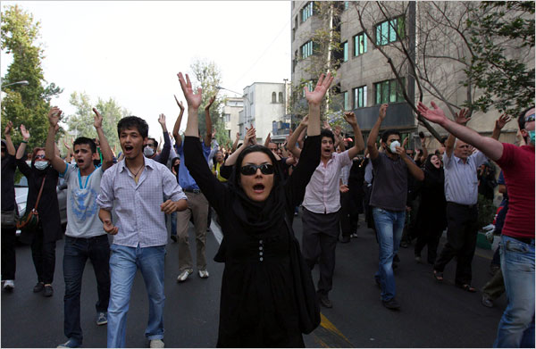 The protests have continued despite stern warnings by the government that the protests would be violently suppressed.