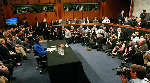 Sotomayor confirmation hearing
