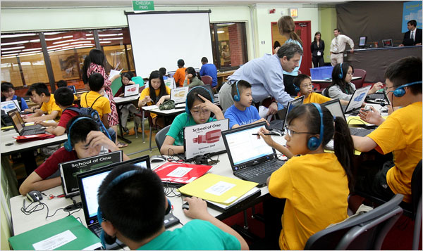 School of One Pilot Program Under Way in Chinatown