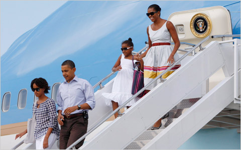 Obamas on Vacation