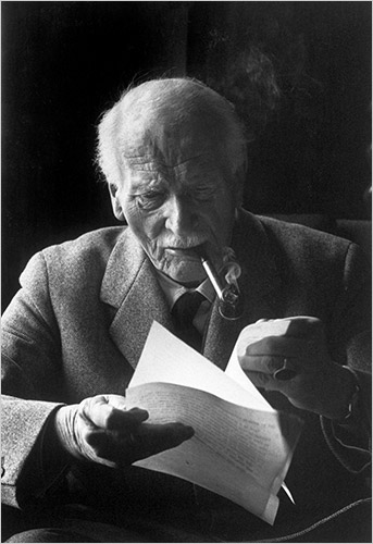 Carl Jung, photographed by Henri Cartier-Bresson