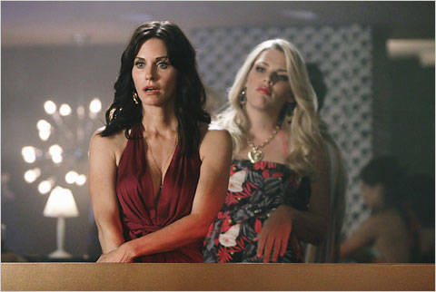 Courtney Cox stars in Cougar Town