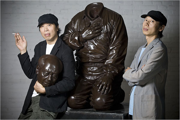 Mao Art in China Is Game of Cat and Mouse
