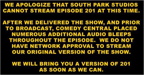 South Park episode 201