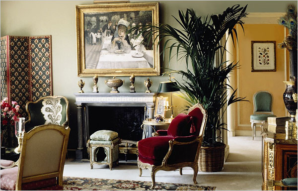 A London Apartment Done Up In French The New York Times